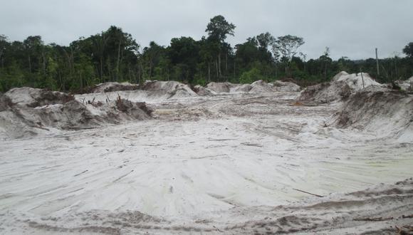 Esta es la zona donde se encuentra la arena blanca. (Foto: Sernanp)