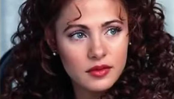 Ana Colchero tuvo una breve y exitosa carrera televisiva en los años 90 (Foto: Captura de Imagen Televisión)