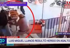 Luis Miguel Llanos quedó herido de gravedad tras matar a presunto delincuente en restaurante de Tumbes
