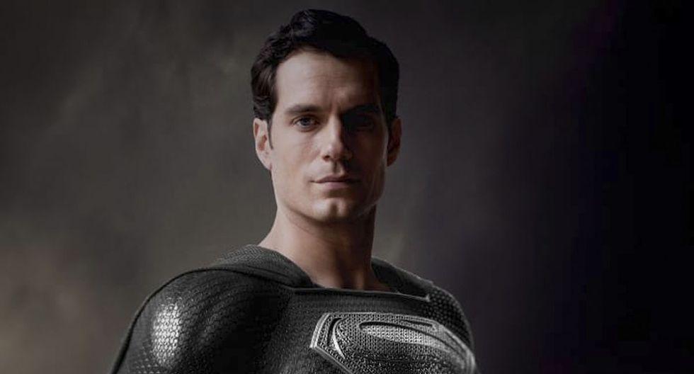 Superman iba a utilizar el traje negro en Justice League (Foto: Warner Bros)