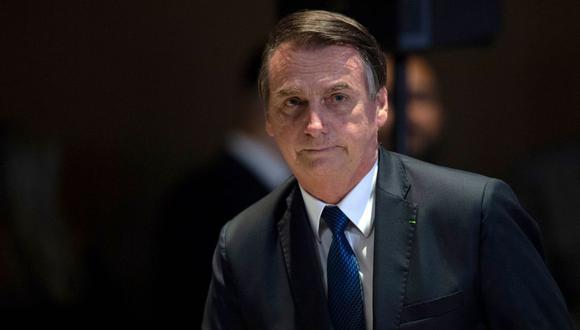 """Bolsonaro considera """"casi imposible"""" una intervención militar en Venezuela. (Foto: AFP)"""