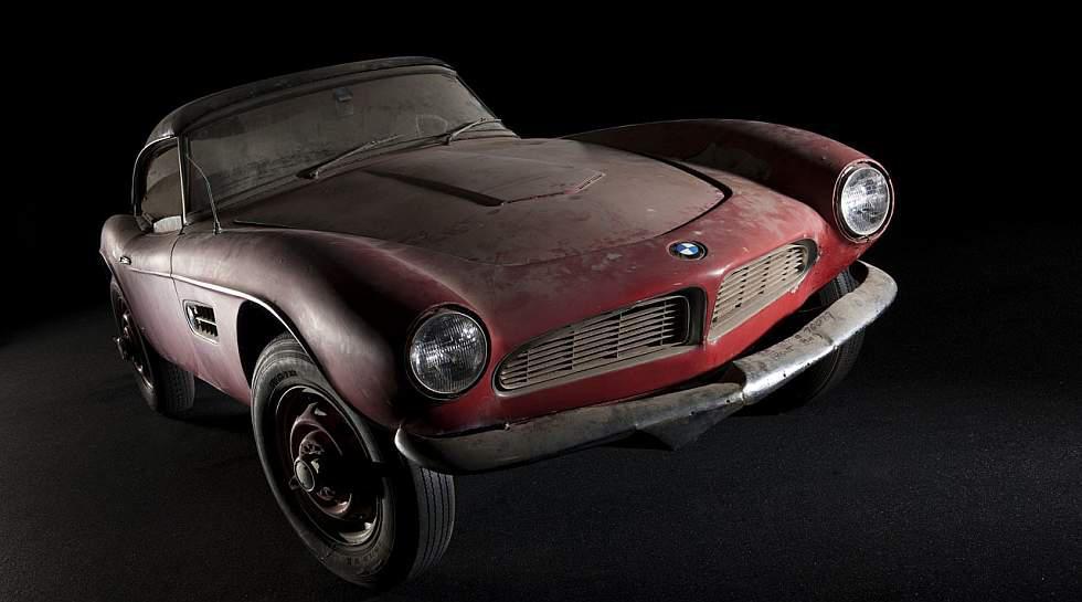 Restauran el BMW 507 de Elvis Presley [FOTOS] - 3