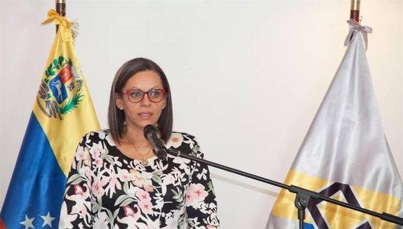 Indira Alfonzo, presidenta del CNE, anunció que a mediados de julio se actualizará el registro electoral y en agosto las organizaciones políticas deberán realizar las postulaciones de los candidatos a diputados. (Foto: EFE).