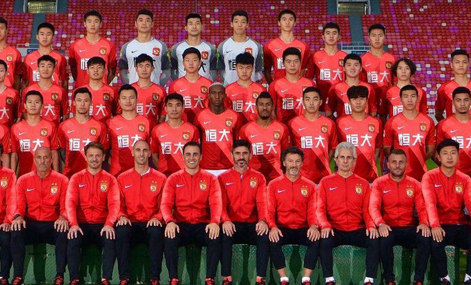 Roberto Siucho no será considerado en Guangzhou Evergrande porque el cupo de extranjeros está completo. El volante peruano, aun así, se mantendría en la Superliga China. (Foto: guangzhouevergrande_fc)