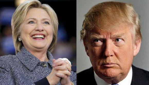 Trump vs. Clinton: ¿Quién tiene más dinero para la campaña?