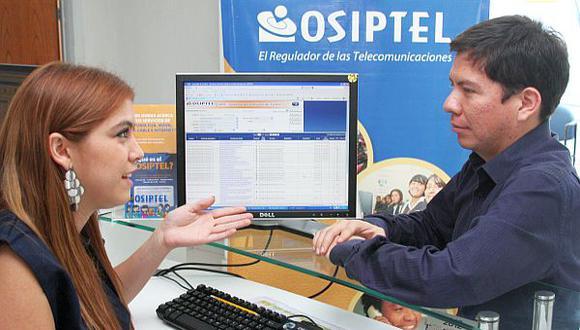 Proyecto que eleva multas de Osiptel quedó listo para el Pleno