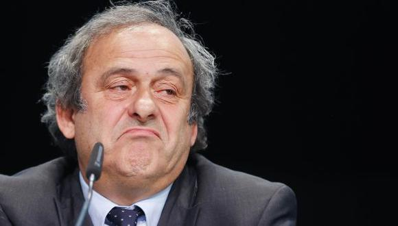 """Michel Platini fue sancionado por FIFA: """"Una auténtica farsa"""" - 1"""