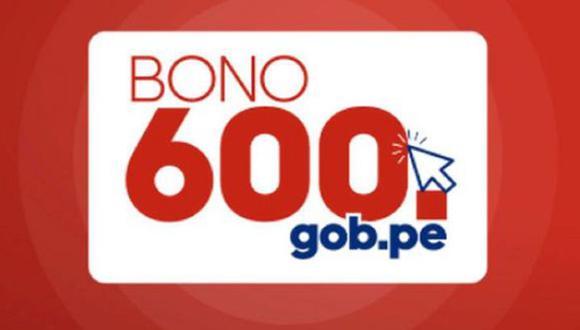 El Bono 600 ayudará económicamente a muchas familias afectadas por la crisis de la pandemia. (Foto: Gob.pe)