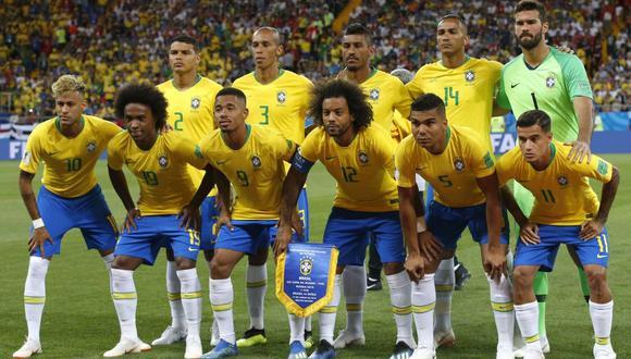 Brasil es la selección mejor valor de mercado: 849 millones de euros.