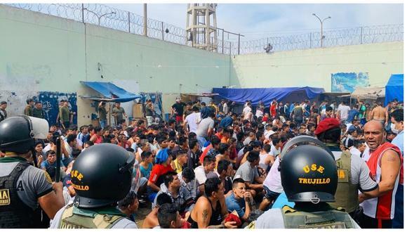 Internos del penal El Milagro, en Trujillo, intentaron fugar el último domingo ante un posible contagio de coronavirus.