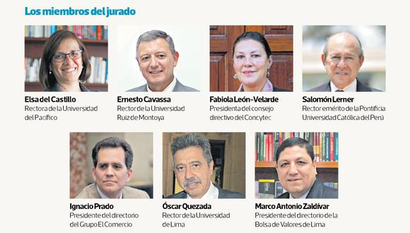 El Jurado de los premios LEC 2019.