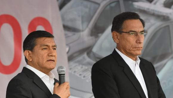 Ministro del Interior, Carlos Morán, reiteró que solo los miembros de la Comisión Permanente tendrán seguridad policial (Foto: Ministerio del Interior)