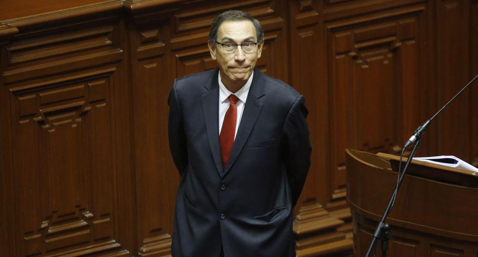 Como titular del MTC, Martín Vizcarra fue interpelado por el Congreso por el Caso Chinchero. (Foto: GEC)