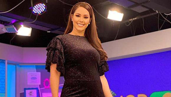 "Latina retira de su programación ""Modo Espectáculos"", programa conducido por Karen Schwarz. (Foto: @karenschwarzespinoza)"