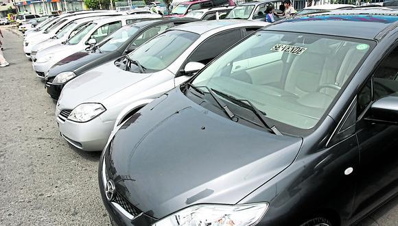 Se identificó que el 43% de los anuncios provienen de autos fabricados del 2010 al 2014. (Foto: GEC)