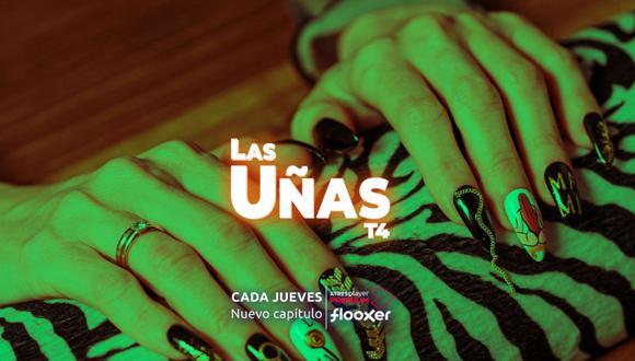 """""""Las Uñas"""", como la mayoría de producciones de ATRESplayer, tiene acceso a making off y fragmentos del contenido completo en la pestaña """"extras"""". (Foto: Captura/ATRESplayer)"""