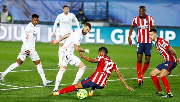 Karim Benzema se apunta al derbi de Madrid | Foto: REUTERS