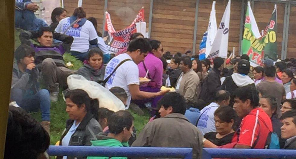 Alcaldes de 5 distritos encabezaron tercera Marcha por la Paz - 4