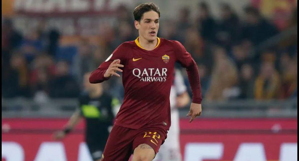 Nicolò Zaniolo - Roma.  (Foto: AFP).