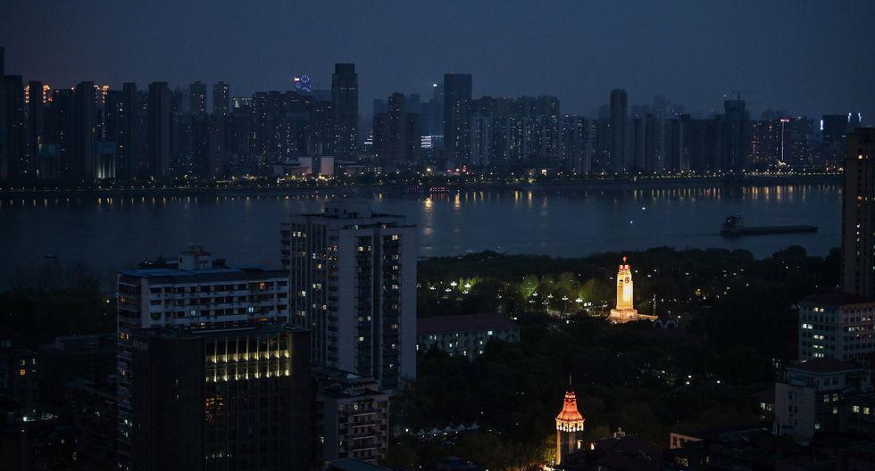 Vista de Wuhan, la provincia central de Hubei en China, después de que las restricciones de viaje a la ciudad se han aliviado. (AFP).