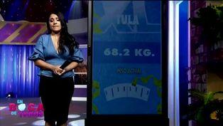 Tula Rodríguez promete bajar de peso luego de pasar un vergonzoso momento