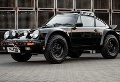 Syberia RS: el Porsche 911 de 1986 todoterreno único en el mundo   FOTOS