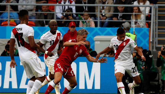 En la primera fecha, la selección nacional fue derrotada por 1 a 0 por Dinmarca en un partido muy ajustado. (Foto: EFE)