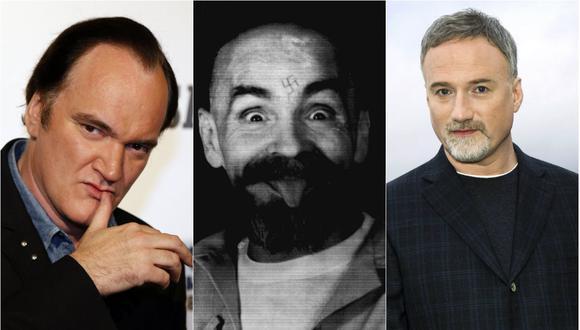 Quentin Tarantino, Charles Manson y David Fincher (Foto: AFP/ Reuters / Reuters)