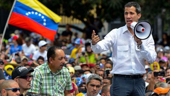 Apagón en Venezuela: Opositores marchan el martes convocados por Juan Guaidó por el corte masivo de energía   Nicolás Maduro. (AFP).