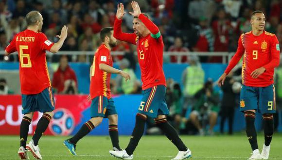 Selección española. (Foto: Reuters)