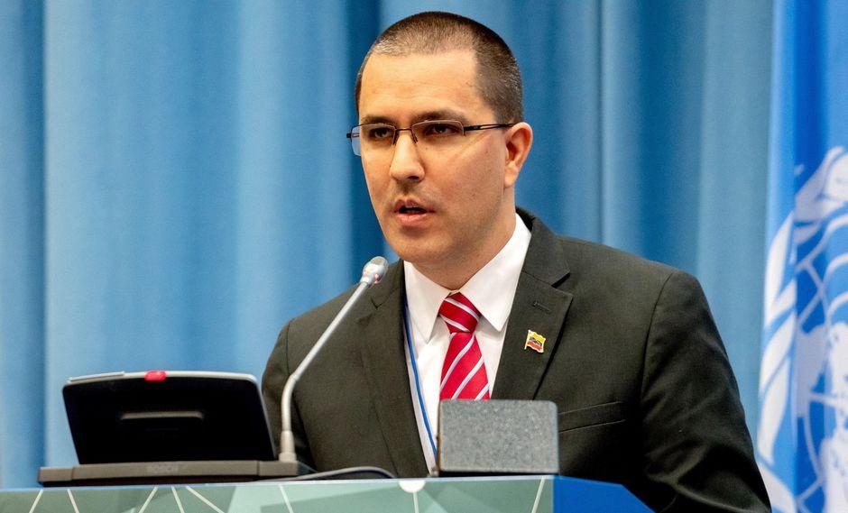 Jorge Arreaza, canciller de Nicolás Maduro, sufre nuevo desplante en reunión de la ONU. (Foto y Video: EFE).