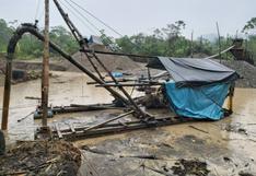 Madre de Dios: destruyeron campamentos e incautaron maquinaria destinada para la minería ilegal