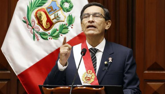El presidente Martín Vizcarra fue cuestionado en diversas oportunidades por las contrataciones de su entorno familia, de confianza y amical. (Foto: Presidencia)
