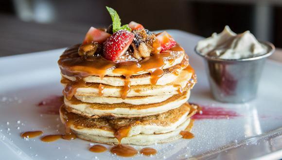 Los deliciosos pancakes son perfectos para un desayuno al estilo americano. (Foto: Pixabay)