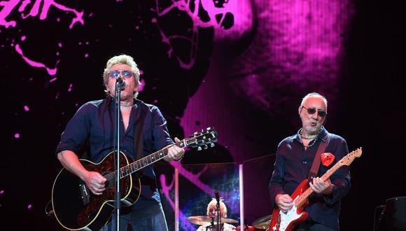 Roger Daltrey (izq) y Pete Townshend continúan manteniendo vivo a The Who. (Foto: AFP)