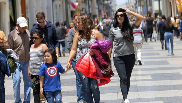 En Lima Oeste, la temperatura máxima llegaría a 22°C, mientras que la mínima sería de 18°C.  (Foto: GEC)