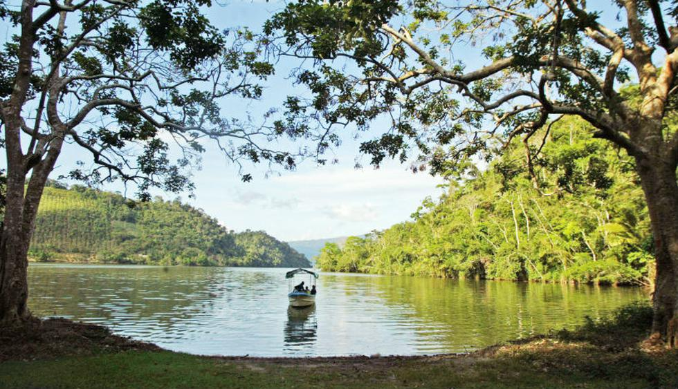 El precio de un full day en la Laguna Azul, en Tarapoto, va desde S/69. Foto: Antonio Escalante