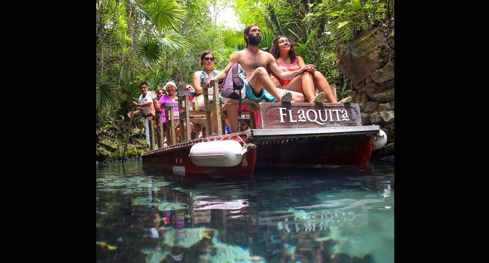 Los visitantes pueden encontrar en un solo parque, juegos acuáticos y restos arqueológicos. (Foto: Xcaret)