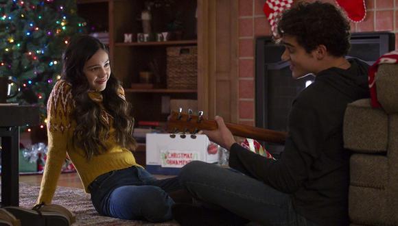 "Olivia Rodrigo y Joshua Bassett en ""High School Musical"", temporada 2. (Foto: Disney)"