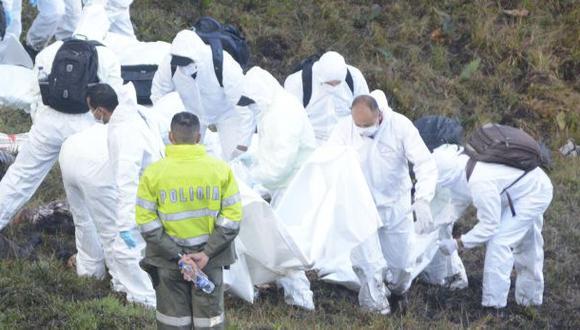 Chapecoense: Culminó identificación de los 71 muertos
