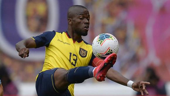 Enner Valencia ha jugado en tres de los cinco partidos de Ecuador en las Eliminatorias Qatar 2022. (Foto: AFP)