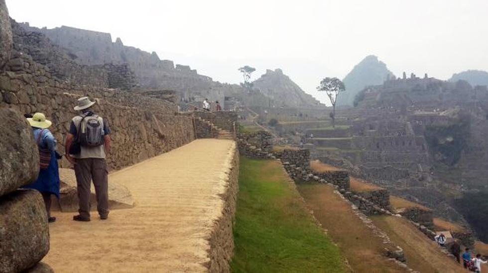 Machu Picchu: humo de incendio forestal cubrió un sector - 5