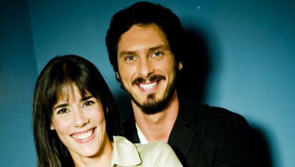 Cristian Rivero y Gianella Neyra, una de las parejas más estables de la farándula local. (Foto: El Comercio)