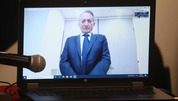 Josef Maiman relató en enero pasado cómo recibió unos US$34 millones para Alejandro Toledo vía videoconferencia. (Foto: GEC)