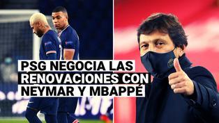 Mbappé duda y Neymar avanza: Leonardo brindó detalles de las negociaciones con las estrellas del PSG