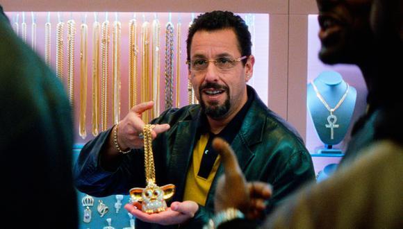"""Sandler """"amenazó"""" con sacar una película mala si no ganaba un Oscar. (Foto: Captura Uncut Gems)"""