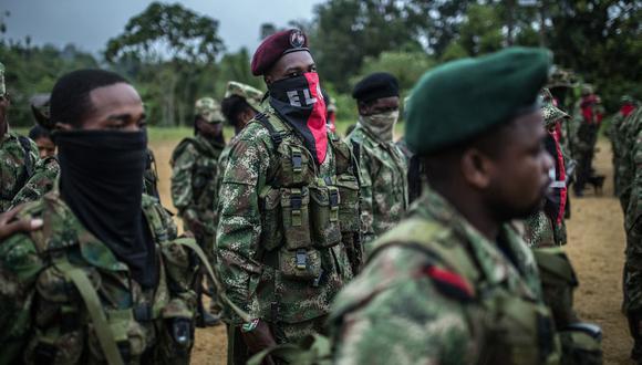 Unos 1.100 guerrilleros del ELN están en Venezuela, según Fuerzas Militares de Colombia. (Bloomberg).