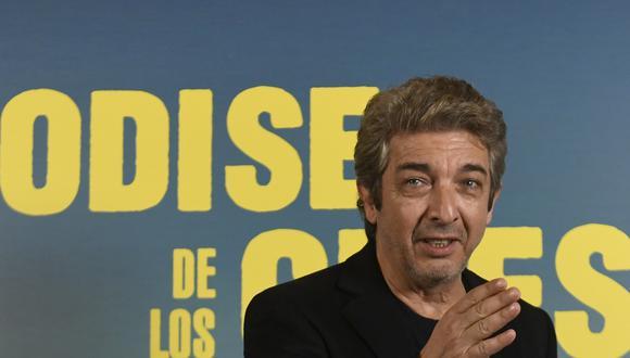 """Ricardo Darin, durante la presentación de """"La odisea de los giles"""", en el Festival de San Sebastian en noviembre de 2019."""