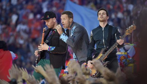 """Coldplay sorprende con el estreno de dos temas del disco """"Everyday life"""". (Foto: EFE)"""