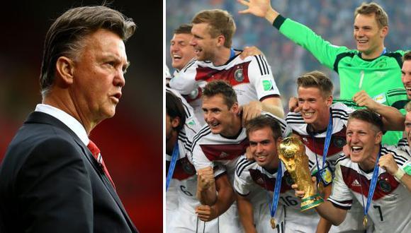 Balón de Oro: Van Gaal cree que un alemán debe ganar el premio